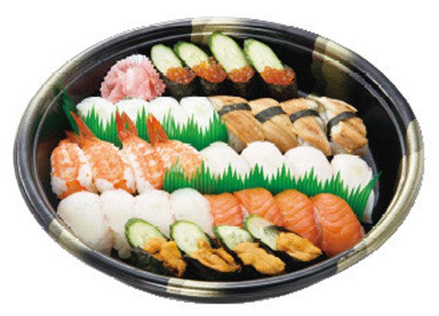 画像:にぎり寿司|約3~4人前|3,200円(税抜)