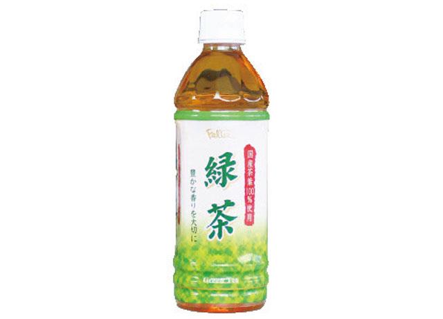 画像:緑茶|500ml|120円(税抜)