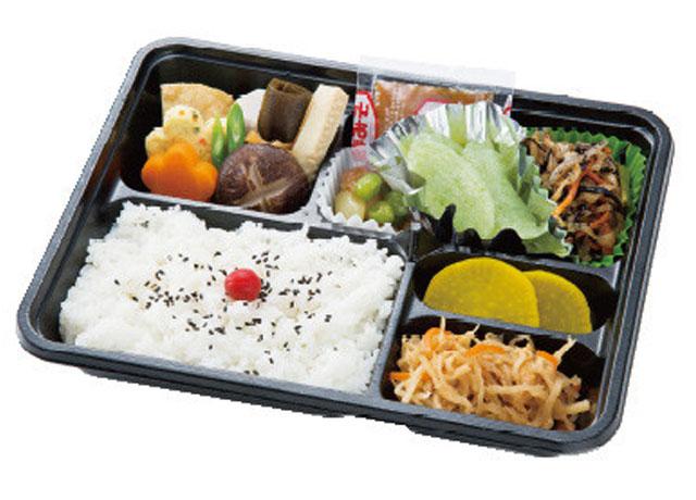 画像:精進料理|法事以外でもご利用いただける弁当です|1,000円(税抜)