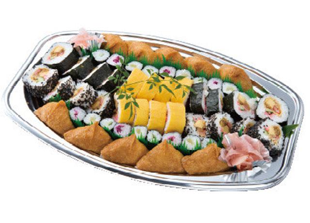 画像:寿司盛|約4~5人前|3,000円(税抜)