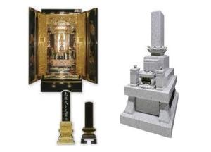 画像:仏壇仏具・墓石